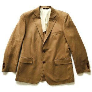 BROOKS BROTHERS 346 Regent Fit Linen-Blend Jacket